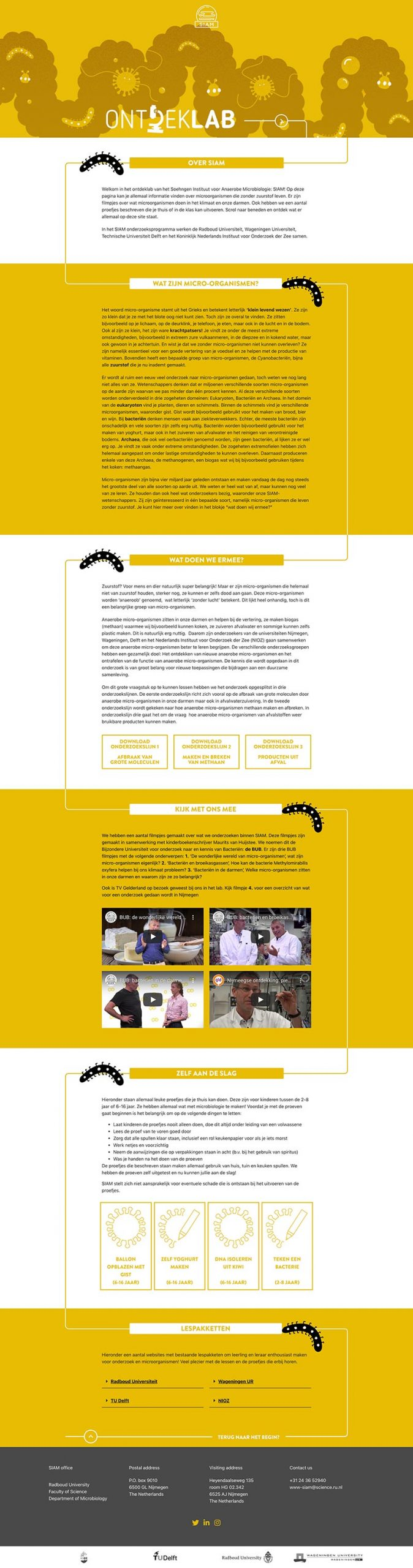 SIAM  Website