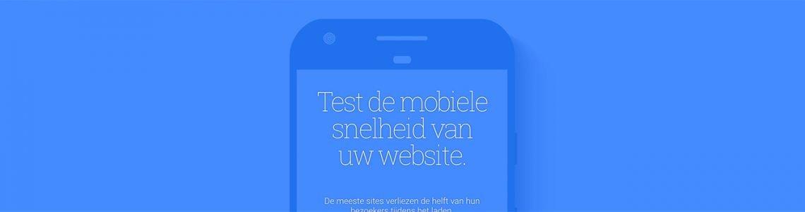 Mobile Speed Test Google